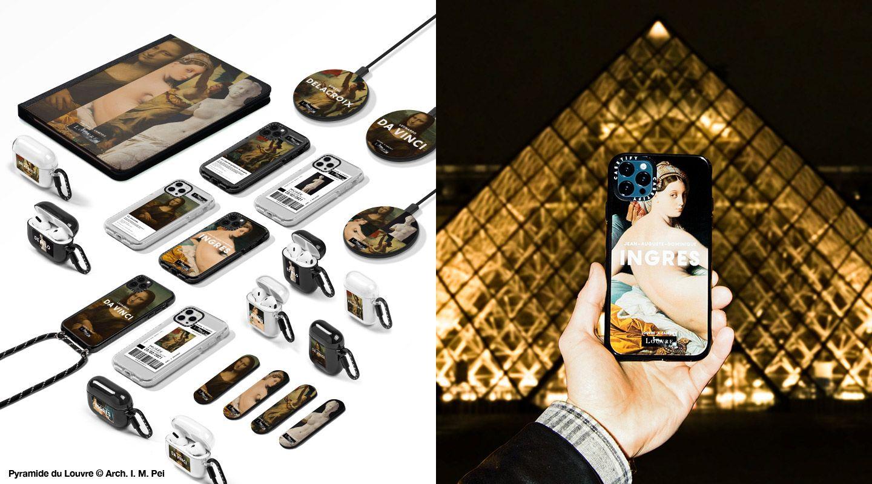 ルーブル美術館×CASETiFYのコラボコレクションが再入荷。iPhoneケース、AirPods Proケース、ワイヤレス充電器など