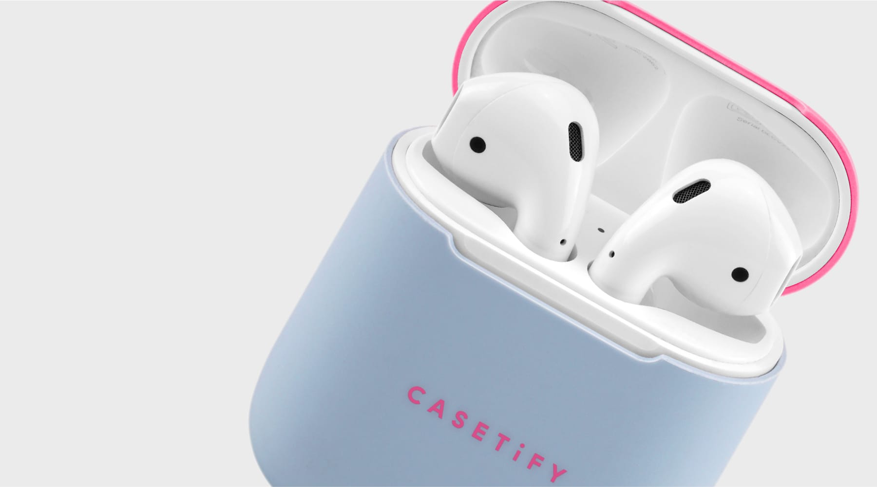 Neon Airpods Case Skin 2 Sets Vip Purple Pink