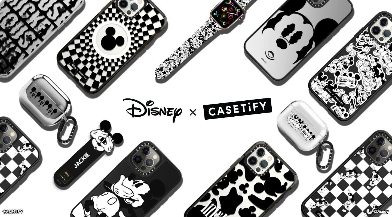 カスタマイズできるiPhoneケースの「CASETiFY」より、白黒ミッキーデザインが登場!