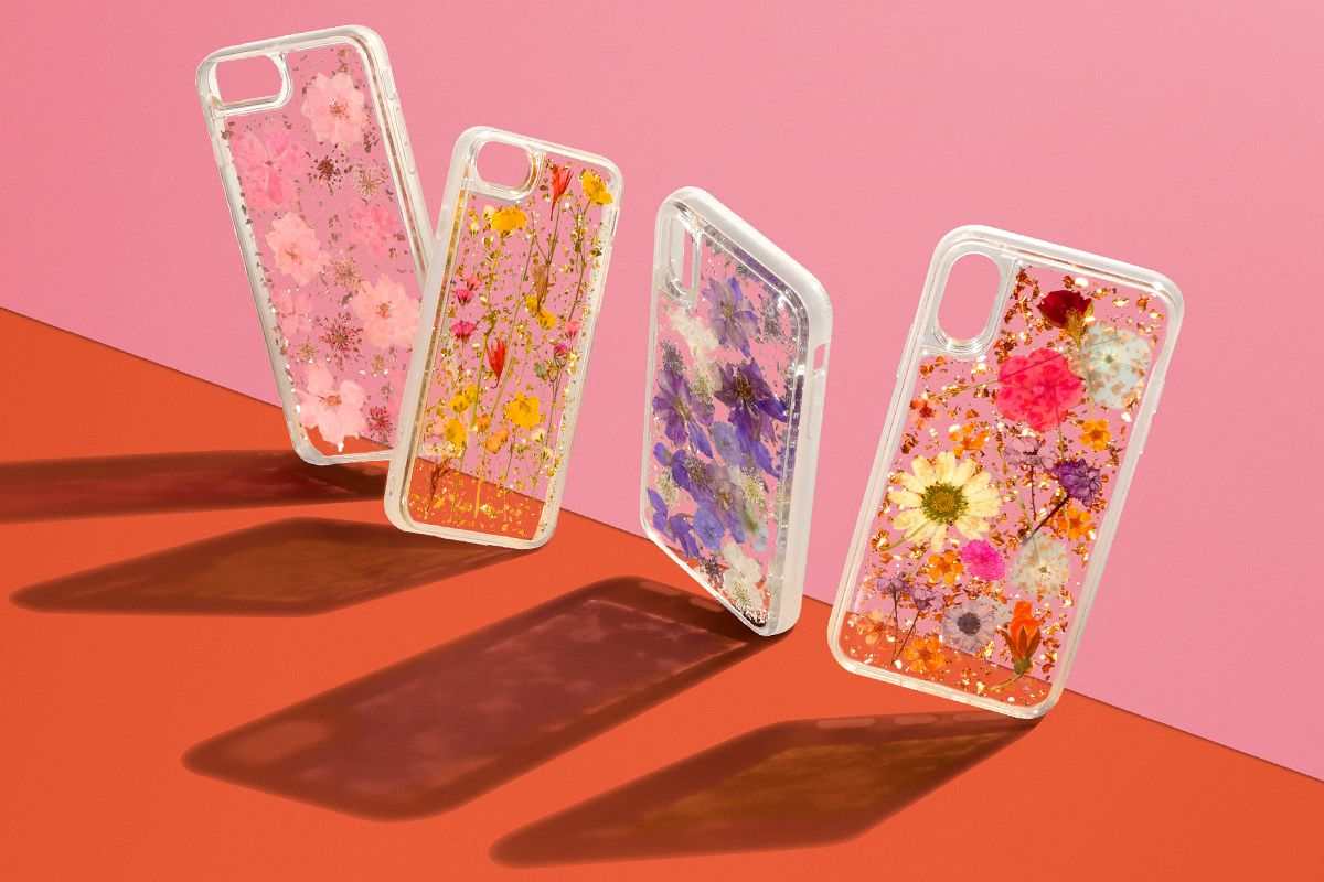 sports shoes 996b9 8b51a Luxe Pressed Flower Phone Cases – CASETiFY