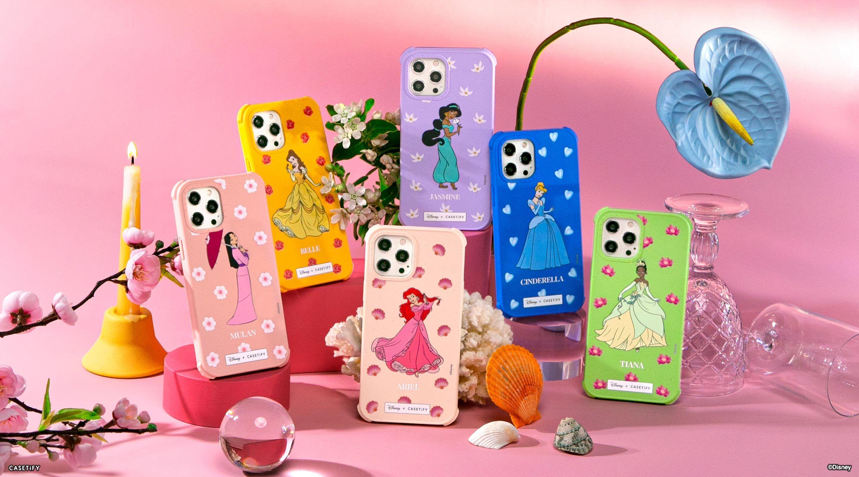 CASETiFYからディズニープリンセスデザインのiPhoneケースが登場。名入れも可能