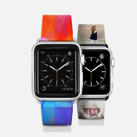 Customized Apple Watch Band (42mm/44mm) cases on Casetify.