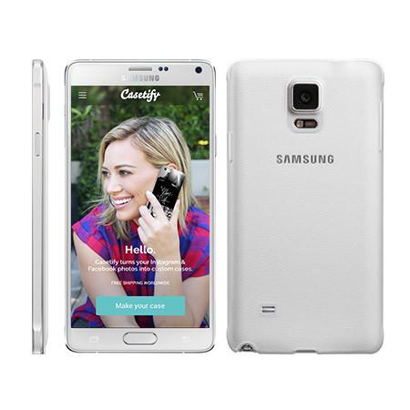 在 Casetify 自製您的 Galaxy Note 4 機殼。